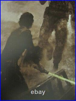 Karl Fitzgerald Star Wars Return of the Jedi Concept Variant Movie Poster Print