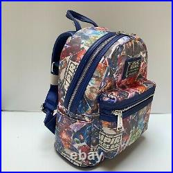 LOUNGEFLY NWT Disney Star Wars Movie Poster Collage Mini Backpack