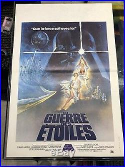 La Guerre Des Étoiles / Star Wars / 40x60 / Affiche / Poster