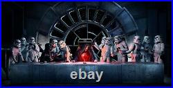 Last Supper Star Wars Iconic Fantasy Movie Wall Art Poster / Canvas Pictures