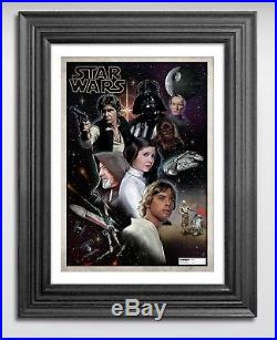 Limited Edition, Signed & Numbered Star Wars Poster, Last 2 Available