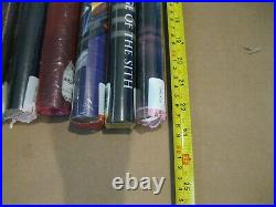Lot of 16 1996-2011 Star Wars, Tomb Raider, Transformers, Xena Posters