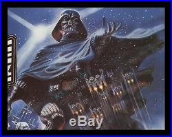 MINT/ROLLED'80 Star Wars THE EMPIRE STRIKES BACK BRITISH QUAD MOVIE POSTER