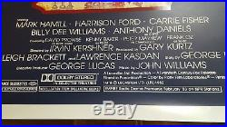 MINT ROLLED! ORIGINAL 1982 THE EMPIRE STRIKES BACK 27x41 STAR WARS MOVIE POSTER