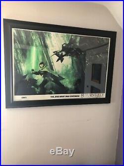 MONDO Star Wars Return of the Jedi Movie Poster Art Print by Jock VARIANT #/275