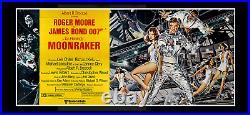 MOONRAKER 1979 24-Sheet MOVIE POSTER BILLBOARD STAR WARS MEETS JAMES BOND 007