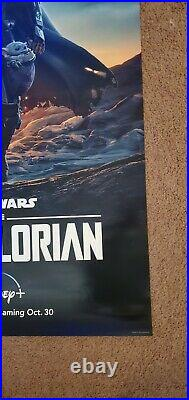 Mandalorian Star Wars 27x40 Regular One-Sheet DS Movie Poster Double sided
