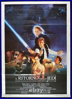 Manifesto Guerre Stellari IL Ritorno Dello Jedi Harrison Ford Star Wars M26