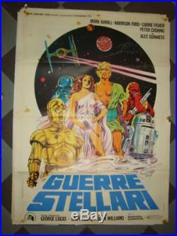 Manifesto Guerre Stellari (star Wars)