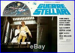 Manifesto Poster Affiche Fotobusta Guerre Stellari Star Wars Fantascienza Sci-fi