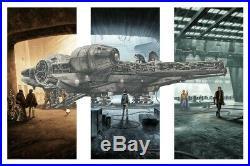 Mark Englert Star Wars She's Got It Where It Counts S/# LE Movie Poster Print