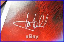 Mark Hamill & Adam Driver Star Wars The Last Jedi Signed 13x19 Poster BAS A11528