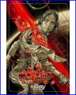 Martin Ansin Rogue One Variant Star Wars Mondo Limited Movie Poster Print #/250