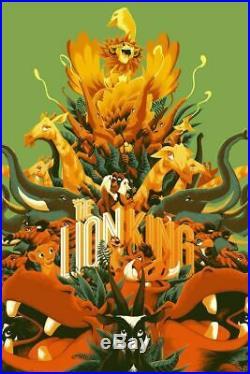 Matt Taylor LION KING Variant Movie Poster Art Print Mondo Disney Star Wars