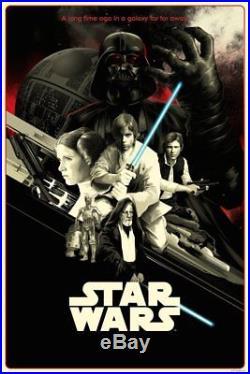 Matt Taylor Star Wars A New Hope VARIANT Art Screen Print Movie Poster #/200
