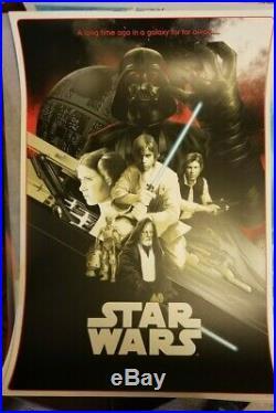 Matt Taylor Star Wars A New Hope Variant 187/200 Movie Poster Art Print NT Mondo