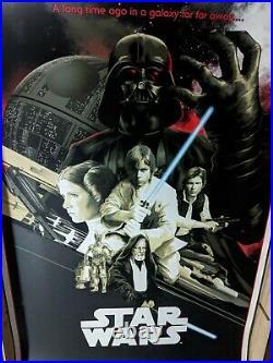 Matt Taylor Star Wars A New Hope Variant ed. 200 Movie Poster Print not Mondo