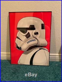 Mike Mitchell Stormtrooper Star Wars Portraits Movie Poster Art Print Mondo