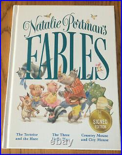 Natalie Portman Signed Fables Book RARE Autograph No Photo or Star Wars Poster