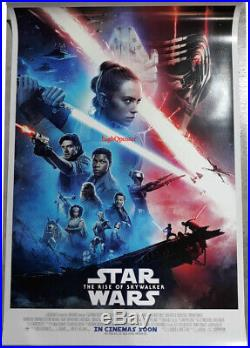 ORIGINAL STAR WARS The Rise of Skywalker DS 27x40 POSTER final int'l double side