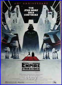 ORIGINAL Star Wars The EMPIRE STRIKES BACK 27x40 DS POSTER international ver