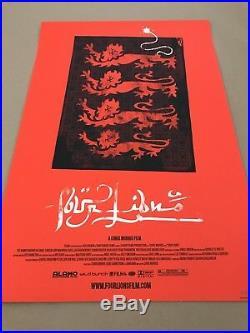 Olly Moss FOUR LIONS Poster Ltd Edition Movie Screen Print Mondo Rocky Star Wars