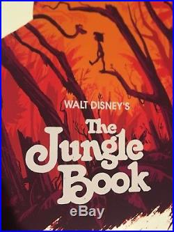 Olly Moss Jungle Book Movie Poster Print Mondo Disney Star Wars Evil Dead