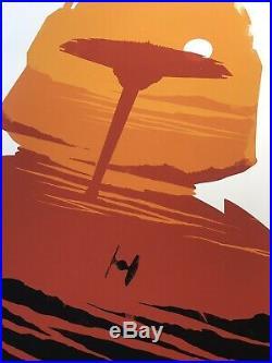 Olly Moss Star Wars The Empire Strikes Back Mondo Print Movie Art Poster ESB Ltd