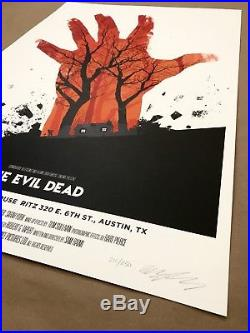 Olly Moss THE EVIL DEAD Movie Poster Mondo Screen Print 2010 Star Wars Jungle
