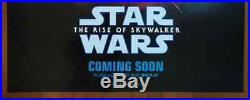 Orig Star Wars The Rise of Skywalker 2019 IMAX Intl DS Movie Poster 27X40 inch