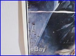 Original 1977'STAR WARS' 14x36 insert movie poster Harrison Ford Mark Hamill