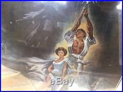 Original 1977 Star Wars Original Movie Poster -Great Condition. Piece of History