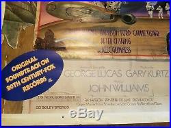 Original STYLE-D 1978 Star Wars Soundtrack Poster ROLLED