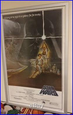 Original Star Wars (1977) Style A 27 x 41 Movie Poster