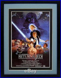 Original Star Wars Trilogy Movie Poster set Finest Quality Framed displays