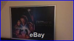 Original Star Wars UK Quad Posters x 4