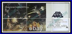 Panic Sale Below Cost! Star Wars Tom Jung 24-sheet Movie Poster Billboard