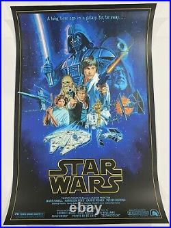 Paul Mann Star Wars A New Hope Mondo Screen Print Art Movie Poster Onesheet