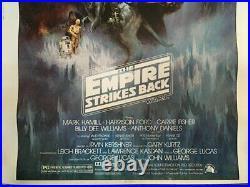 RARE STAR WARS 1980 The Empire Strikes RECALLED MOVIE POSTER RARE SIZE 30X40