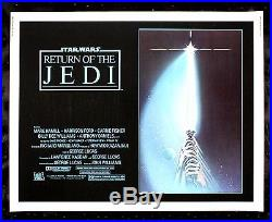 RETURN OF THE JEDI CineMasterpieces ORIGINAL MOVIE POSTER 1983 STAR WARS