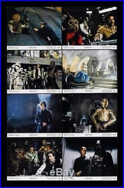 RETURN OF THE JEDI LOBBY CARD SET CineMasterpieces MOVIE POSTERS STAR WARS