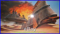 RETURN OF THE JEDI Movie Poster 3 Diff. Jumbo LOBBY CARD's STAR WARS 1983