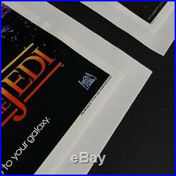 REVENGE OF THE JEDI STAR WARS ORIGINAL MOVIE POSTERS Dated And Undated RARE