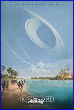 ROGUE ONE A STAR WARS STORY MOVIE POSTER 2 Sided ORIGINAL Version B 27x40