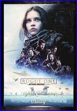 ROGUE ONE CineMasterpieces ORIGINAL DS 1SH INTL MOVIE POSTER STAR WARS 2016