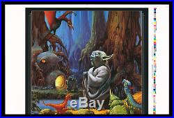 Raph Mcquarrie Star Wars The Empire Strikes Back Movie Poster Artist's Proof
