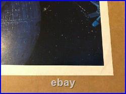Return Of The Jedi 1983 Original Australian Daybill Style B Movie Poster Rare