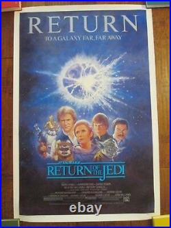 Return Of The Jedi 1sheet Rolled Movie Poster Star Wars