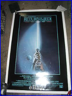 Return Of The Jedi / Orig. U. S. One-sheet Style A Movie Poster (star Wars)