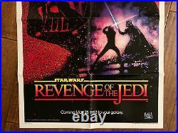 Revenge Of The Jedi -Original 1982 Movie Poster Star Wars